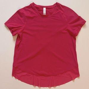 Lululemon Short Sleeve Shirt with Crossover Mesh